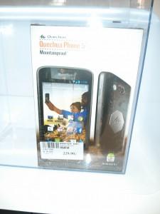 packaging QuechuaPhone5